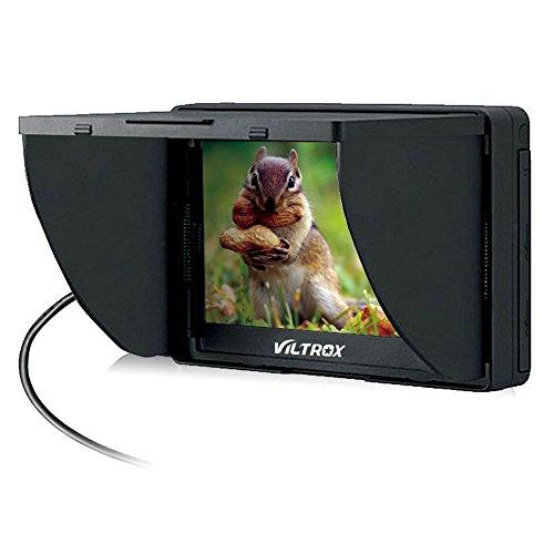 Viltrox DC-50 HD Clip-on LCD 5'' Monitor Portable Wide View for Canon Nikon Sony DSLR Camera DV by Viltrox