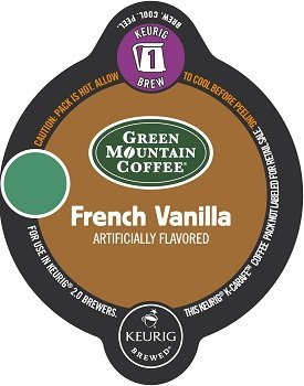 Keurig 2.0 Green Mountain Coffee French Vanilla Light Roast Coffee K-Carafe 30 Count ()