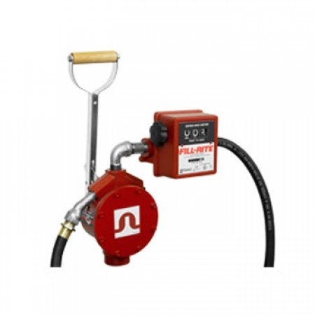 Fill-Rite FR156 Piston Style Hand Pump With Meter, 8' Hose, Nozzle by Fill-Rite