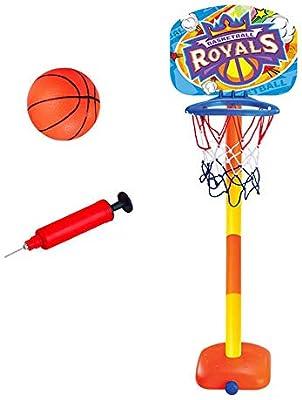 Womdee - Canasta de Baloncesto para niños, Altura Regulable y ...
