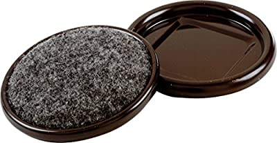 Shepherd Hardware 1-7/8-Inch Carpet Base Furniture Cups