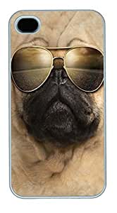 Artistic Daft Punk Dj HAC1014033 PC Silicone For Case Samsung Galaxy S4 I9500 Cover White
