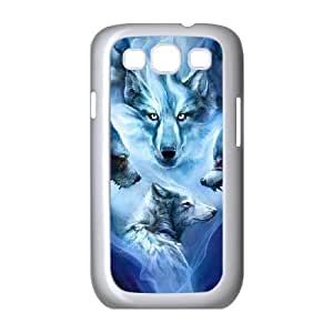 Case Of Wolf Howling Customized Hard Case For Samsung Galaxy S3 I9300