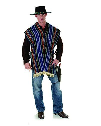 Bandito Halloween Costume (Men's Serape Costume - Bandito)