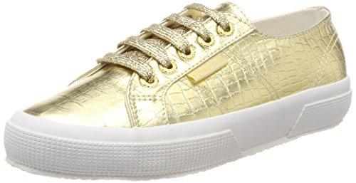 Superga Oro 2750 Sneaker Cotmetembossedcoccow Gold Donna Orange 174 gwTg8xqzr