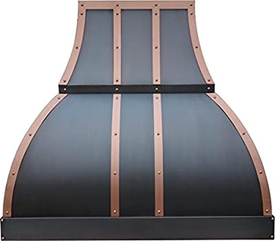 Range Hood with Blower t 660CFM Copper Best H1 302136S Copper Vent Hood Oil Rubbed Bronze Finish 30 inch Wall