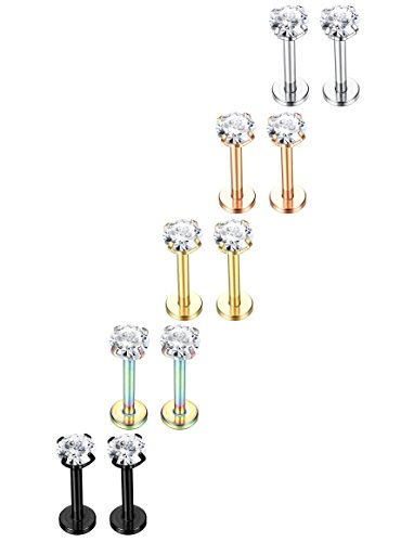 Jstyle Stainless Piercing Cartilage Piercings