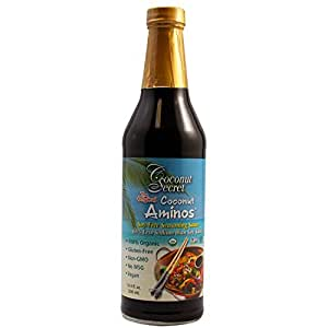 Coconut Secret Organic Aminos Soy-Free Seasoning Sauce, 8 Ounce