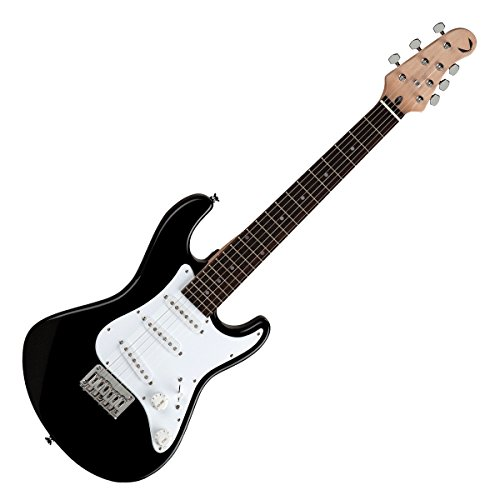 - Dean Playmate Avalanche Junior 3/4 Size Solid Body Electric Guitar - Classic Black