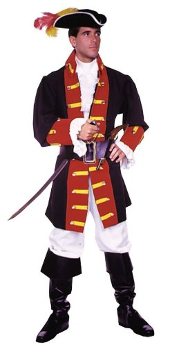 [Captain Hook Prince Suit Medium Costume] (Storybook Prince Adult Mens Costumes)