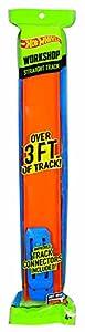 Mattel Hot Wheels CCX79 - Spielbahnen, Orange Track 4-er Pack