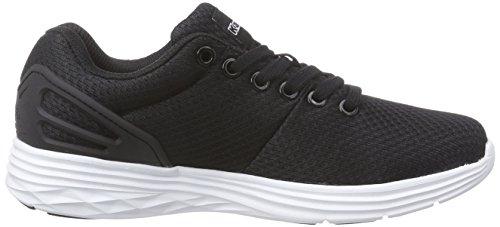 Kappa TRUST Footwear unisex - zapatilla deportiva de material sintético Unisex adulto negro - Schwarz (1110 black/white)