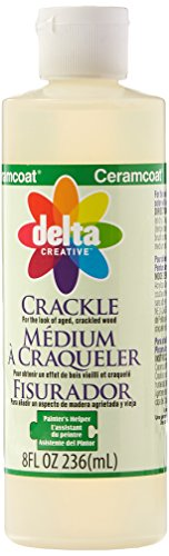 Delta Creative Painters Helper Crackle Medium  8 Ounce   70090800