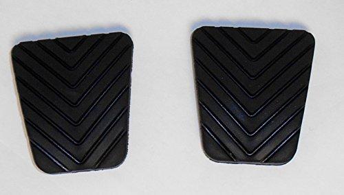 - Genuine Mitsubishi Brake & Clutch Pedal Pad Set (Qty of 2) Manual Transmission MB193884 Eclipse Galant 3000GT