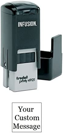 Infusion Custom Self Inking Rubber Stamp product image