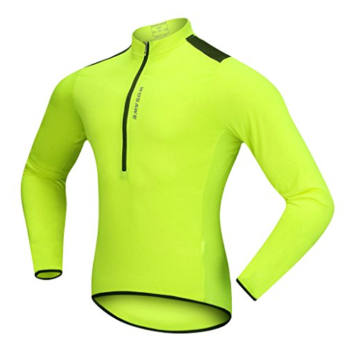 Homyl Cycling Jersey Bicycle Bike Cycle Long Sleeves Jersey Jacket Comfortable Shirts Tops T-shirt for Men Women Summer…