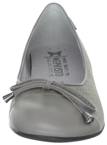 Mephisto-Chaussure Ballerine-ADONIA Gris nubuck 6905-Femme