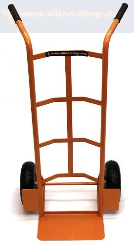 Splayed Twin Handled Sack Truck Ideal for Tall Loads Ollies Trolleys UK OT1007