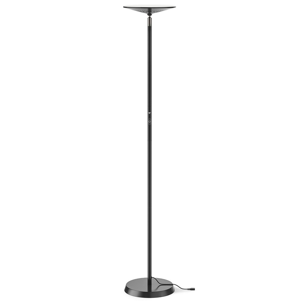 "TaoTronics Smart LED Floor Lamp, Works with Alexa, 65""/166 cm Dimmable Lamp with 3000 K Warm Light for Living Room, Bedroom, and Office"