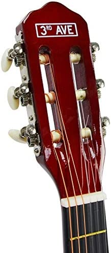 3rd Avenue STX20FN Guitarra clásica de tamaño 1/4, Natural ...