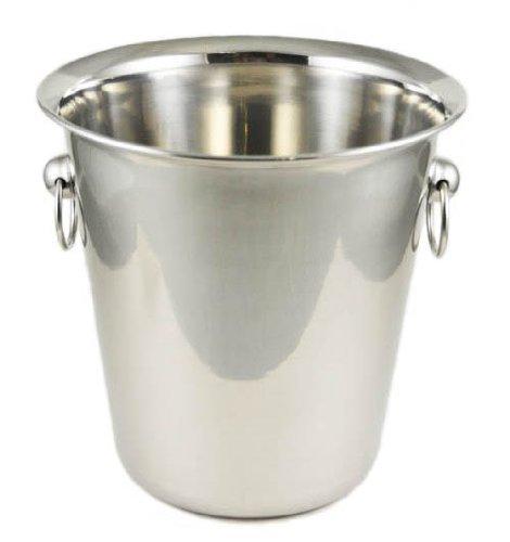 Winco WB-4 4 Quart Wine Bucket, Set of ()