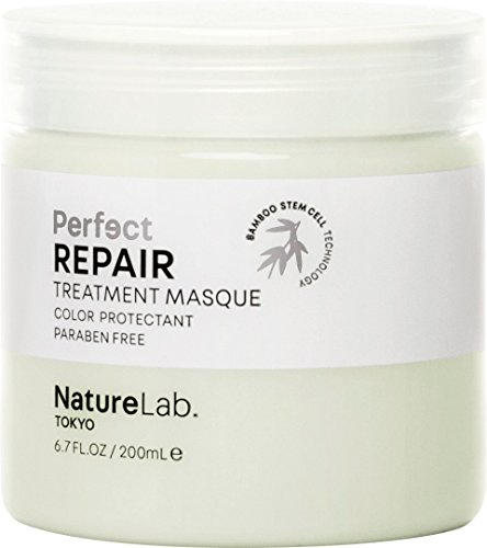 NatureLab. Tokyo - Perfect Repair Treatment Masque restores severely damaged, chemically treated hair: Sulfate and cruelty free, protects color- 6.7 fl. oz.