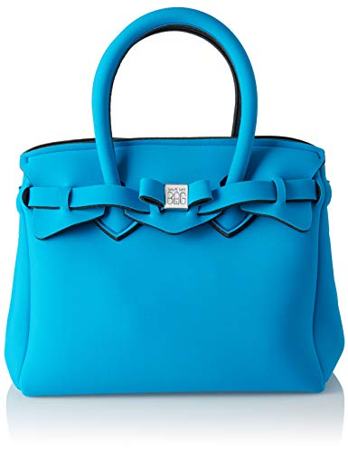 x H save 26x23x13 Blu W Borsa a Peacock Petite Miss L bag Mano Donna my cm x OqwgRO7