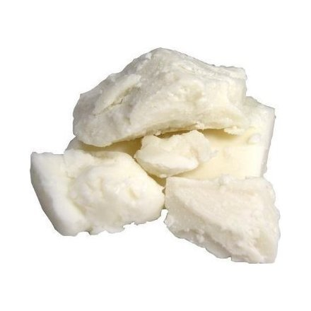 African 100 % Pure Ivory Raw Unrefined Organic Shea Butter Ghana 3lbs by Vicks (Pure Organic Shea Butter)