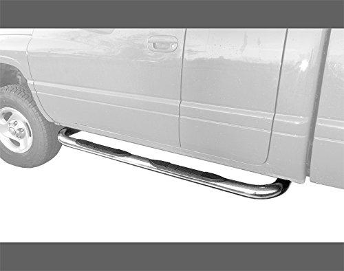 MaxMate Premium Custom Fit 94-01 Ram Club Cab/98-01 Ram Quad Cab Pickup Truck Stainless Steel 3