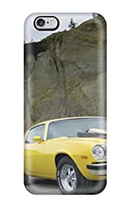 KellieLeanne VZnHrGy1474XKUoK Case Cover Iphone 6 Plus Protective Case Exclusive Chevrolet Camaro Front Yellow