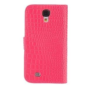 Teléfono Móvil Samsung - Carcasas de Cuerpo Completo - Diseño Especial - para Samsung S4 I9500 ( Negro/Blanco/Rosado/Rosa , Cuero PU ) , Rose