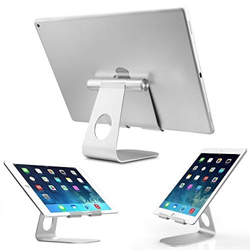 iPad Stand,Ownta Tablet Holder Stand, Multi-Angle Aluminum Stand for iPad Pro, iPad Air 2 / 1, iPad Mini and Samsung Tablets, kindle tablets, iPhone and other Smart Phone