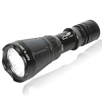 Akku für Riff Lampe TL 3000 MK 2 3.7 Volt Tauchen Tauchlampen