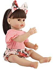 Baby Dolls That Look Real - 22 inch Baby Born Doll, Soft Silicone Rebirth - for Girls and Children