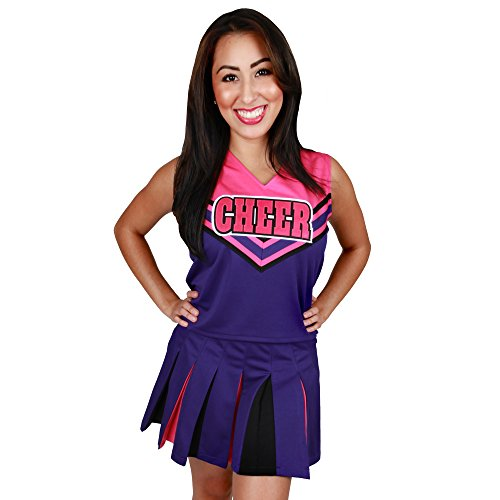 Girls Sweetie Pie Cheerleader Halloween Costume