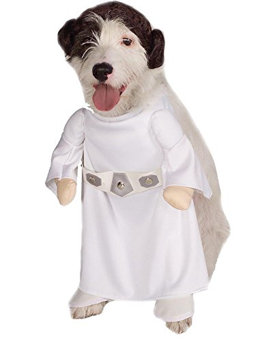 Rubies Costume Star Wars Collection Pet Costume, Princess Leia, Small -