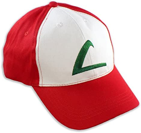 def50a347b18a Pokemon Ash Ketchum Hat Baseball Cap One Size Unisex Cosplay Costume