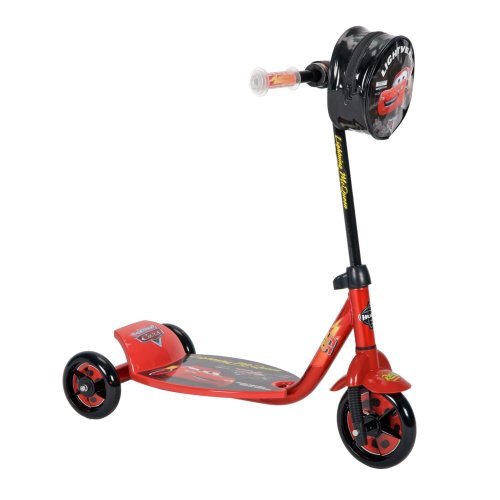 Huffy Disney Cars Scooter, Red/Black, 6-Inch