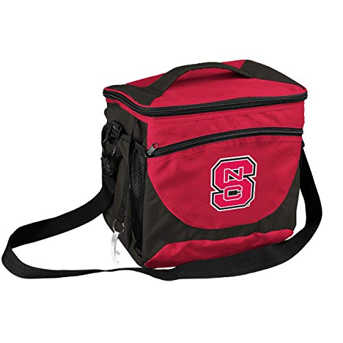 (NCAA North Carolina State Wolfpack 24-Can Cooler with Bottle Opener and Front Dry Storage)