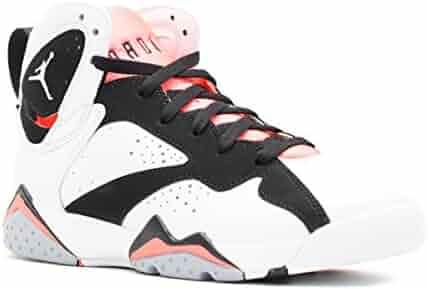 designer fashion 9df31 62651 NIKE Air Jordan 7 Retro GG 442960-106 White Black Hot Lava Kids