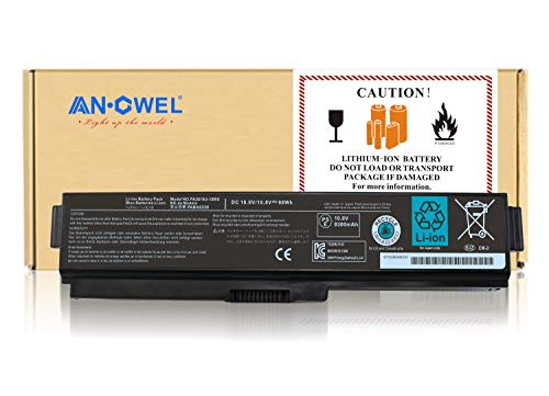 Angwel 10.8V 98WH Toshiba PA3819U-1BRS Replacement Laptop Battery for Satellite A655 A660 L600 M500, Satellite Pro C650 C660 L510 serious - 1 Year Warranty