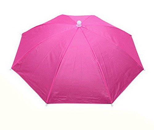 Rose Umbrella Hat Headwear for Fishing Sun Rain