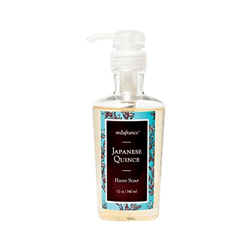 Seda France Classic Toile Liquid Hand Soap Japanese Quince 12 -