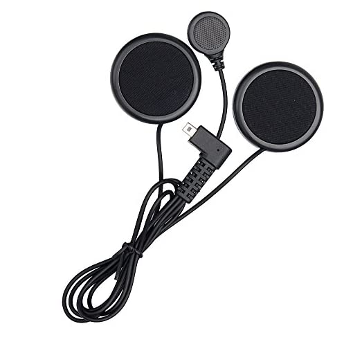 FreedConn Motorcycle Helmet Speakers Headset with Hard Corded Microphone Series Motorcycle Communication Systems