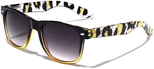 Animal Print Ladies Retro Fashion Sunglasses