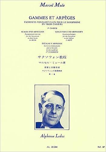 En ligne téléchargement gratuit Gammes et arpèges - Exercices fondamentaux pour le Saxophone - Volume 1 epub, pdf