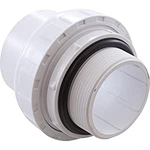 Praher 200-90015 3,81 cm MIP x 5,08 cm SKT Unión con O-Ring