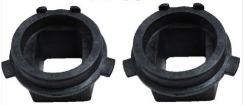 HID H7 Bulb Holders Adaptors 2 Pcs for Hid Bulbs for 2012 Hyundai Veloster