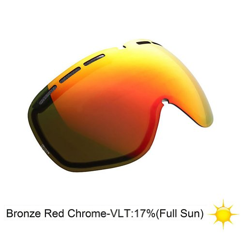 Electric EG2 Goggle Replacement Lens Bronze-Red Chrome\Full - Goggles Eg2 Lenses Electric