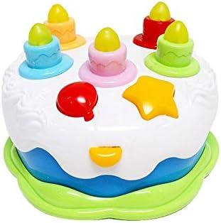Amazon.com: kes-b Musical pastel con luces y sonidos de ...